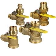 Profipress G gas meter corner ball valves