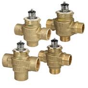 Diverter valves 3-way design