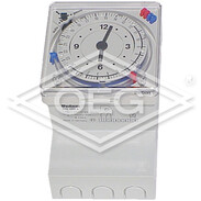 Theben timer SUL 289 g analogue timer wall/front panel, 2 channels, 230V~