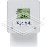 Theben TR636 TOP, digit.timer, wall/ front panel mounting, 2 channels, 230V