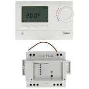 Theben Digital clock thermostat RAM 813 top2 HF Set 8139501