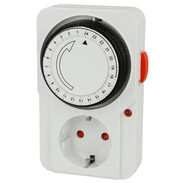 Plug-in timer 24 h mechanical