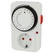 Plug-in timer 24 h mechanical