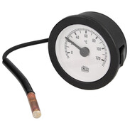 Remote thermometer 0-120 °C round with Ø 57.5 mm