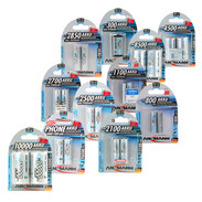 Ansmann primary and rechargeable batteries