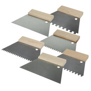 Spatulas for tiles and masonry products