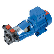 OEG SAFAG motor pump groups SMG with internal gear pump VB series with pressure-regulating valve