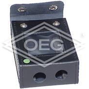 leather bag for digital pressure gauge with magnet