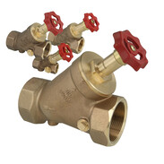 Gunmetal free-flow stop valves with non-rising stem and female thread