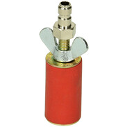 """Gas test plug for gas line tester 3/4"""", cylindrical"""