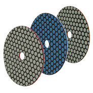 Diamond polishing discs