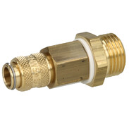 "High-pressure plug 1/2"" with brass connectors MAXI 21577"