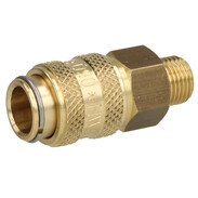 "High-pressure plug 1/8"" with brass connectors MAXI"