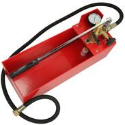 Manual pressure testing pump 50 bar