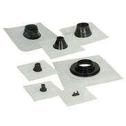 Fleece-butyl sealing collars