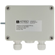 Afriso junction box with pressure relief port