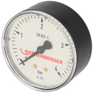 """Manometer 1/4"""" for gas line tester GW 150/4"""