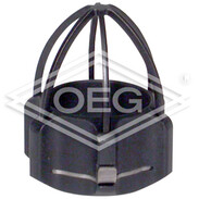 Guidance sleeve with protection cage for miniature camera head VIS 220
