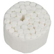 Long cotton wool rolls, 50 pcs, for soot test pumps, Wöhler