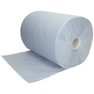 Paper tissue roll blue approx. 1000 tear-offs 36 x 36 cm 2-ply