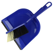 Plastic hand brush set in assorted colours