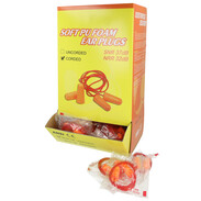 Hearing protection plugs 100 pairs in dispenser box
