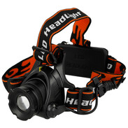 LED head lamp 10 W 400 lumens