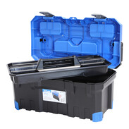 Tool box Titan Plus including tray for small tools