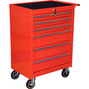Roller cabinet with 6 drawers