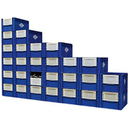 OEG storage box with hinged flap special offer pallet 27 + 1