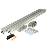 Façade mounting kit for 4flex® tube colllectors