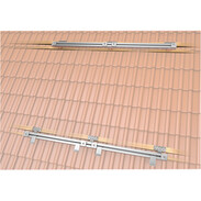 Mounting kit for 4plus® flat collectors, standard roof tiles