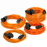 Heavy-duty cable for construction sites