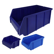 Open storage boxes