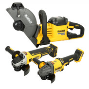 Cordless angle grinders / cut-off saws