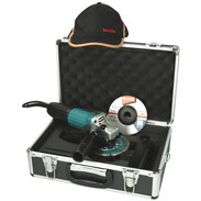 Makita 125 mm angle grinder GA5030RSP1 in case with grinding and diamond disc GA5030RSP1