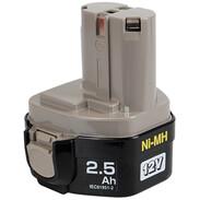 Makita battery 1234 12 V Ni-MH, 2.6 Ah, 193100-4 1931004