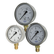 Bourdon-tube gauges