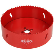 Ruko Bi-metal hole saw Ø 127 mm x 38 mm cutting depth with HSS edges