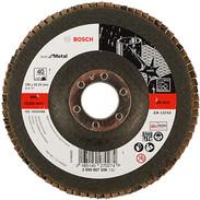 Bosch disco abrasivo 125 mm dritto, K80 2608607328