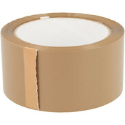 Packing tape 50 mm x 66 m brown