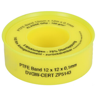 Thread-sealing tape PTFE for coarse threads