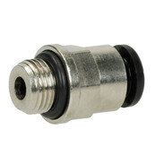 "straight plug union 1/8"" ET x 6 mm coupling, pneumatic"