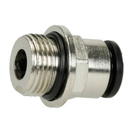 "straight plug union 3/8"" ET x 10 mm coupling"