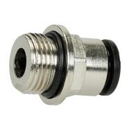 "straight plug union 3/8"" ET x 10 mm coupling"