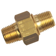 "brass double nipple 1/8"" removable"