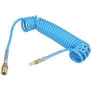 Spiral hose 6.0 m external ø 10 mm internal ø 6.5 mm, made of polyurethane