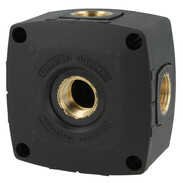 "Air distribution block G 1/2"" IT 4 x air input and outlet"