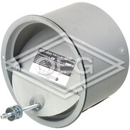 Draft limiter Z 6 w. chimney sleeve 154 mm, 250 mm