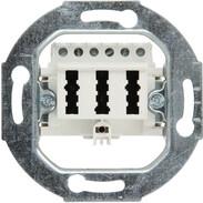Rutenbeck TAE sockets for analogue networks TAE 3x6 NFN FM 0 pure white 10210517